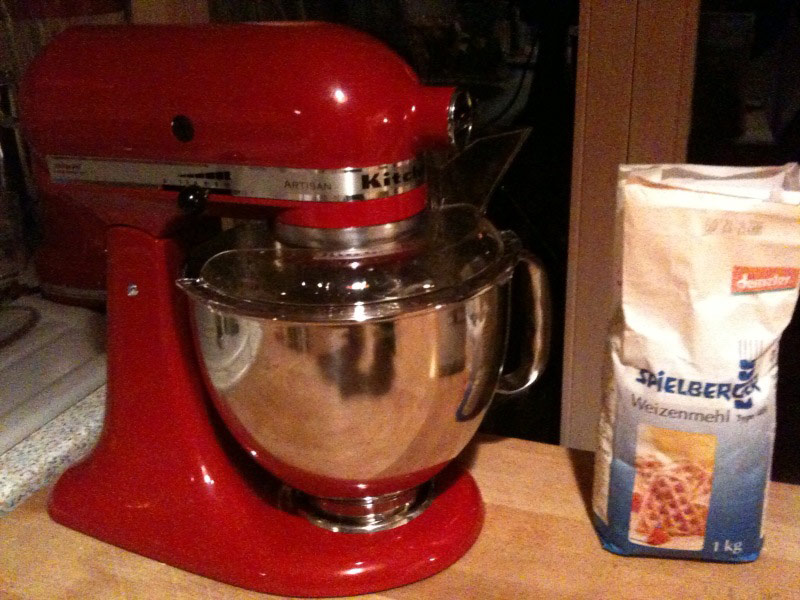 My KitchenAid, very helpful :)
